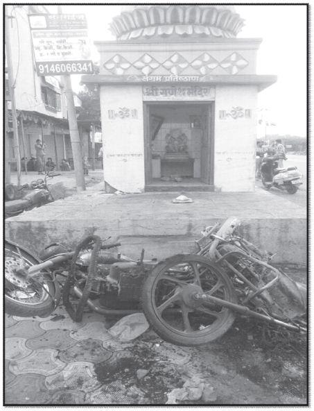 Koregaon Bhima Report 17 - Ganesh Mandir inmarathi