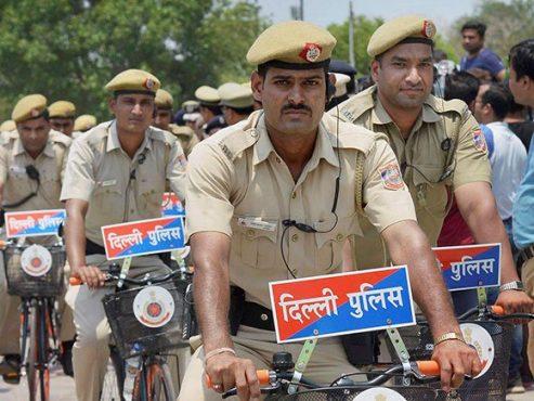 delhi police-inmarathhi