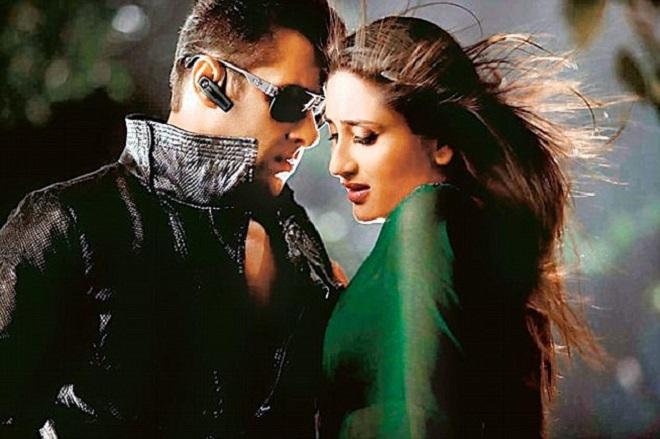 Salman Khan in film still Bodyguard