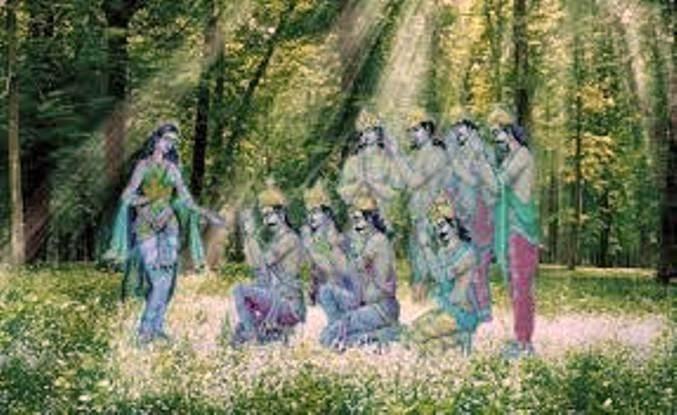Ganga and ashta-vasu InMarathi