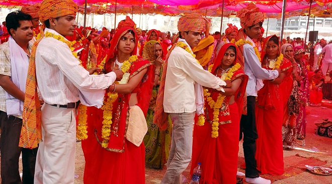 mass-marriage Inmarathi