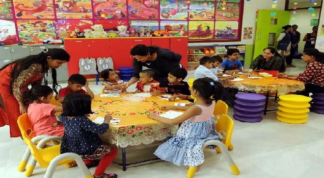 day care center 1 InMarathi