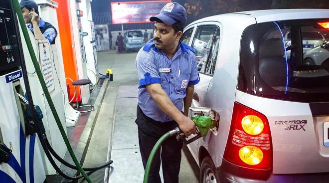 petrol pump inmarathi