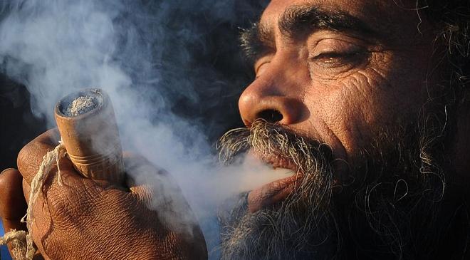 smoking ganja inmarathi