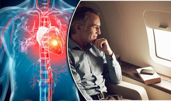 Plane-heart attack-inmarathi