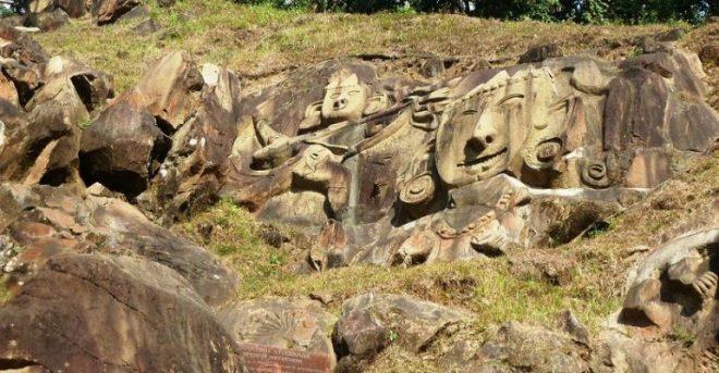 Unakoti-tripura-stones-inmarathi
