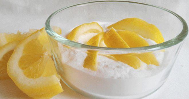 baking soda and lemon-inmarathi