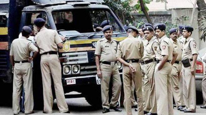 Mumbai-police-bandobast InMarathi