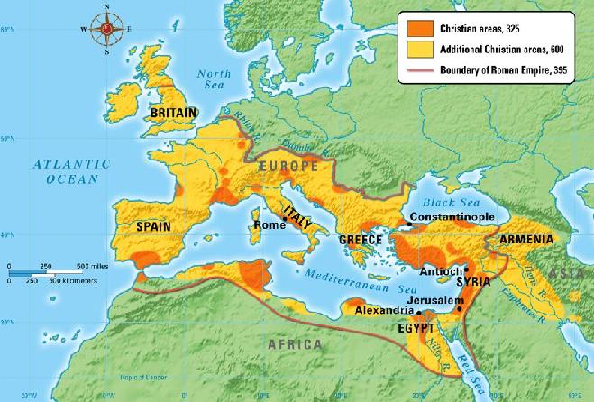 Spread of Roman Empire InMarathi