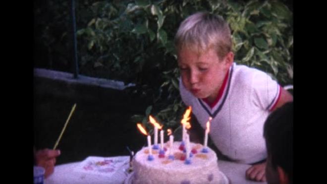 boy cake cutting inmarathi