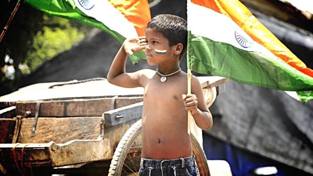 child salute inmarathi