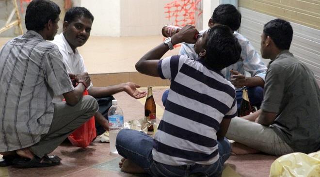 Drinking InMarathi