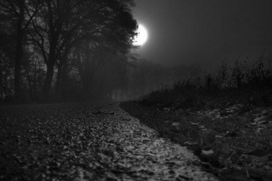 frightned road-inmarathi
