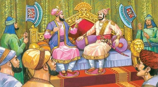 sambhaji and aurangzeb InMarathi