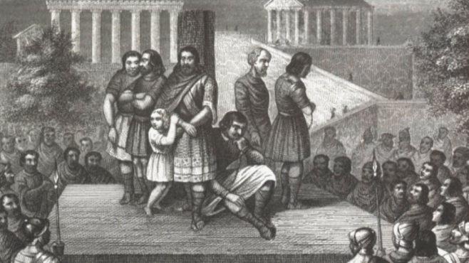 slavery in Rome Inmarathi
