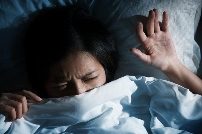 sleep or tenstion at night InMarathi