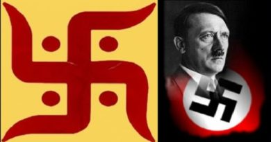 swastika and Nazi InMarathi