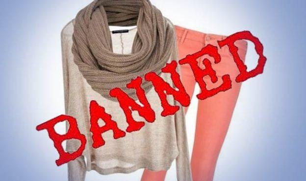 western clothes ban-inmarathi
