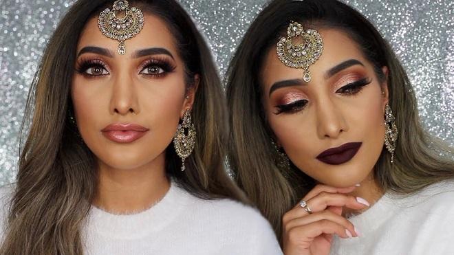 bridal makeup InMarathi