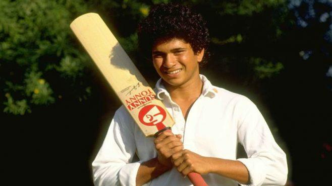 sachin-tendulkar-Test-debut-inmarathi