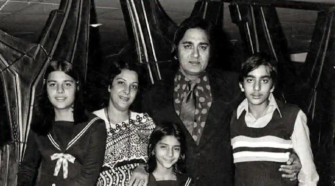 sunil datta family Inmarathi