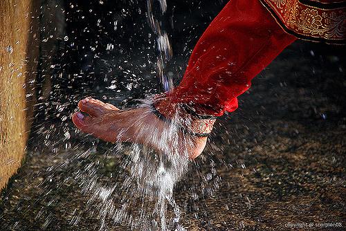 washing legs-inmarathi