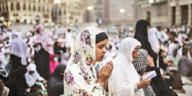 women at hajj inmarathi