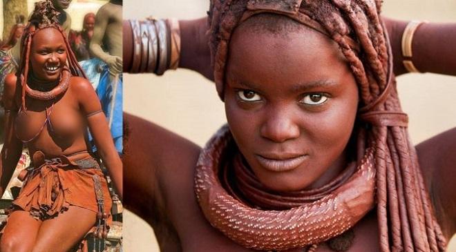 Himba women InMarathi