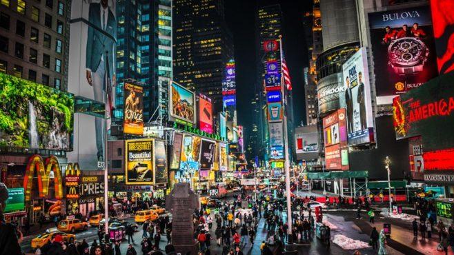 Times Square inmarathi