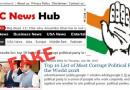 काँग्रेस जगात दुसऱ्या क्रमांकाची भ्रष्ट पार्टी : बातमी चुकीची