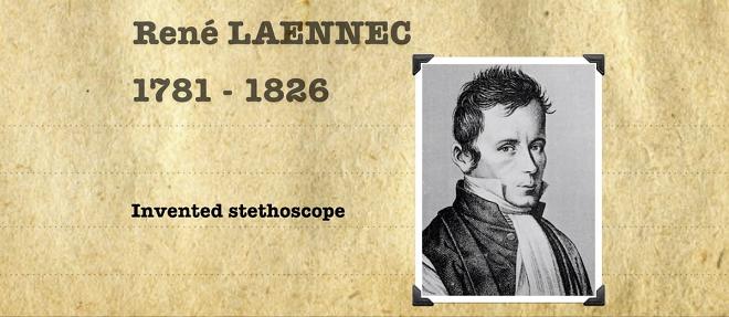 inventor of stethoscope inmarathi