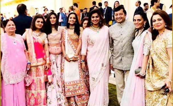 Ambani wedding ceremony Inmarathi