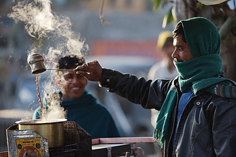Tea in cold weather InMarathi