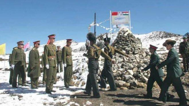 chiana and india border InMarathi