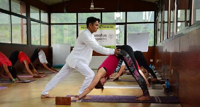 yoga inmarathi