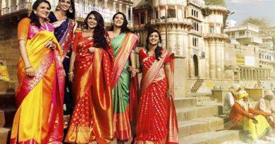 Banarasi saree Inmarathi