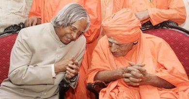 kalam and Shivkumar Swami