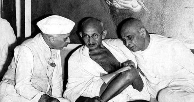 Gandhi nehru patel Inmarathi