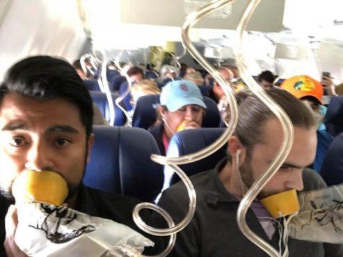 airplane oxygen mask inmarathi