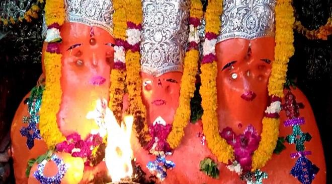 bhairav nath temple harh mountain InMarathi