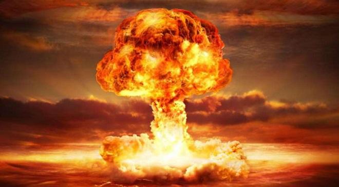 hydrogen bomb InMarathi