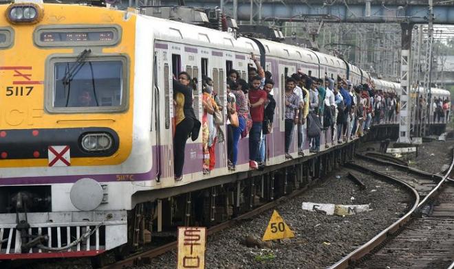 local trains inmarathi