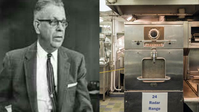 microwave percy spencer InMarathi
