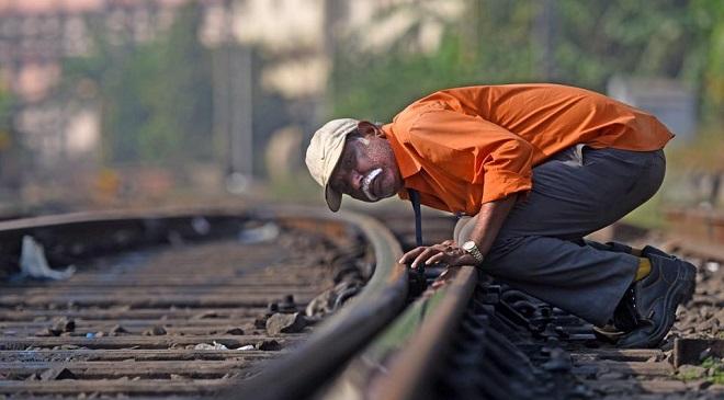 railway track work