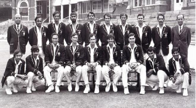 1971 cricket team