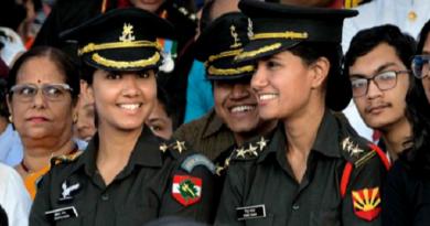 NDA Women-Officers InMarathi