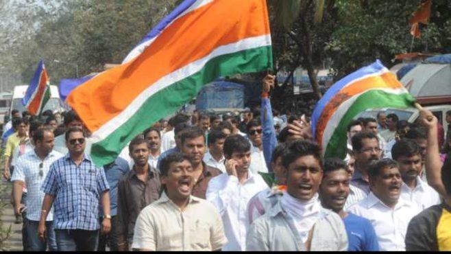 mns workers inmarathi
