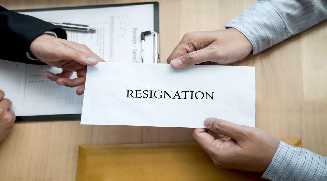 resign inmarathi