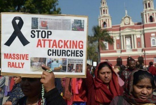 CHURCH ATTACK INMARATHI