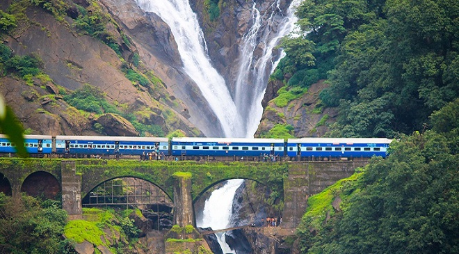 dudhsagar-waterfall- Train Route InMarathi Feature